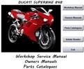 Thumbnail Ducati Superbike 848 Workshop Service Manual 2008 - 2010