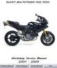 Thumbnail Ducati Multistrada 1100 + 1100S Workshop service manual